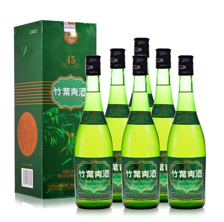 45%vol 国酿竹叶青酒图片
